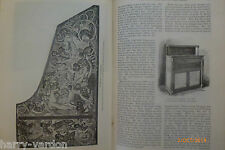 History Pianoforte Piano Silbermann Antique Victorian Illustrated Article 1884