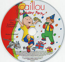 Caillou BIRTHDAY PARTY & MAGIC PLAYHOUSE 2 PC/MAC GAMES