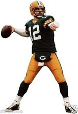 "AARON RODGERS 2012 NFL MVP Green Bay Packers - WindoCling Decal ""Throwing"" -NEW"