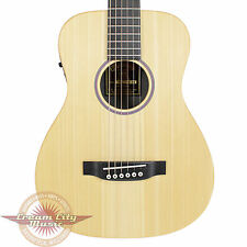 Brand New Martin LX1E Little Martin Acoustic Electric Travel Guitar Natural