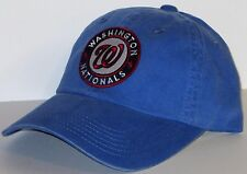 Washington Nationals LADIES CAP ~HAT ~CLASSIC MLB PATCH/LOGO ~FADED BLUE ~NEW