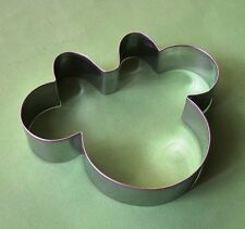 Minnie mouse baking pastry cookie cutter metal stainless steel mold