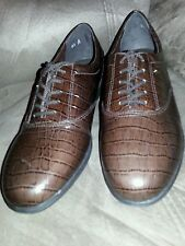 Easy Spirit Anti- Gravity Oxford Womens Shoes Size 9 1/2 Leather Upper NWOB