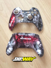 Custom Hydro Dipped Xbox 360 Controller Shell - The Walking Dead Zombies