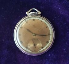 VINTAGE OMEGA GF POCKET WATCH/ PARTS
