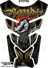 Suzuki Bandit 600 650 1200 1250 Motorcycle Tank Pad Motografix 3D Gel Protector