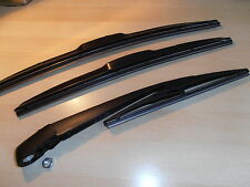 Fiat Panda 2003-2012 Hybrid Front Wiper Blades.+ Smooth Rear Arm Blade