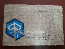 CATALOGO PARTI RICAMBIO 1974 VESPA PIAGGIO APE 400 COMMERCIAL 400