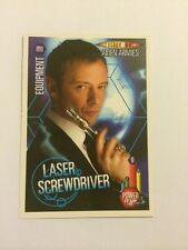 DOCTOR WHO- ALIEN ARMIES- TRADING CARD GAME- 010-LASER SCREWDRIVER- MINT