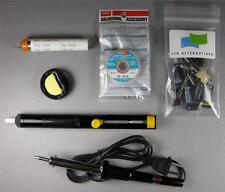 LG 37LC7D LCD TV Complete Repair Kit v1, PLUS 11 Capacitors, board not included.