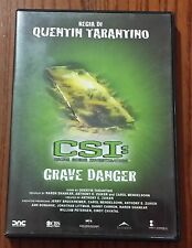 CSI GRAVE DANGER - DVD FILM