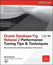 ORACLE DATABASE 11G RELEASE 2 PERFORMANCE T - RICHARD J. NIEMIEC (PAPERBACK) NEW