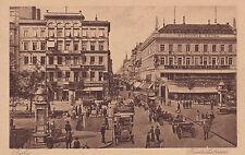 AK Berlin um 1910 Friedrichstraße Pferde Kutschen Uhrtürmchen