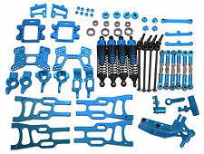 Upgrade Parts Package For HSP RC 1/10 Electric / Nitro Buggy Car Blue aluminum