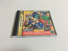 Marvel Super Heroes vs. Street Fighter Sega Saturn Japan IMPORT T-1239G CAPCOM