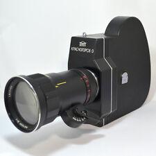 EXC! Super 16mm KRASNOGORSK-3 modified Camera RECENTERED METEOR-5-1 17-69 M42
