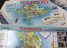 Vintage Touristo Board Game Of Singapore 1980s RARE Complete Collectors Item