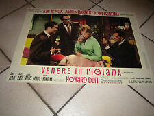 FOTOBUSTA VENERE IN PIGIAMA KIM NOVAK JAMES GARNER