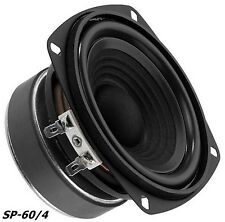 "Monacor SP-60/4 Hifi Bass 100mm 4"" Bassmitteltöner 10cm"