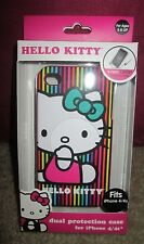Hello Kitty iPhone 4/4s hard shell & soft gel case New in package