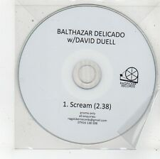 (FU219) Balthazar Delicado with David Duell, Scream - DJ CD