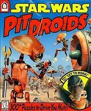 Vtg Star Wars Pit Droids Puzzle PC Game & Guide Book Windows 95/98 & Macintosh