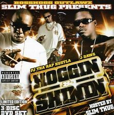 Higgin & Shinnin - Slim Thug (2007, CD NIEUW) Explicit Version3 DISC SET