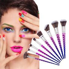 8tlg Einhorn Make-up Pinsel-Set professionellen Make-up Pinsel