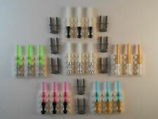 Lego Lightsabers Knifes. GLOW IN THE DARK. Brand New!! Star Wars Weapons