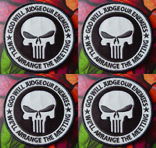 LOT OF INFIDEL JUDGE ENEMY PUNISHER NIGHT VISION REFLECTIVE PATCH