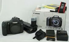 Canon EOS 7D 18.0 MP Digital SLR Camera with battery grip