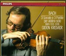 Bach: 3 Sonatas & 3 Partitas for Solo Violin, BWV 1001 - 1006