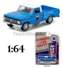 Greenlight 41010F 1972 Ford F-100 Chevron Gas Pickup Truck Diecast 1:64 NEW!