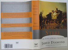 JARED DIAMOND Guns, Germs, and Steel FIRST EDITION
