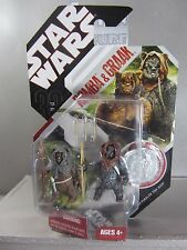ROMBA & GRAAK 30th Anniv. Star Wars Return Jedi EWOKS Action Figure Mint in Box