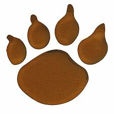 Sizzix Bigz Bear Paw Print die #A10818 Retail $19.99 Retired, Cuts Fabric