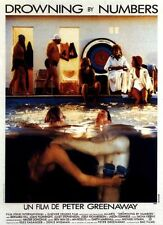 Affiche 40x60cm DROWNING BY NUMBERS 1988 Peter Greenaway - Joan Plowright NEUVE