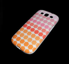 NEW DIAMOND PATTERN SAMSUNG GALAXY S3 III SOFT PLASTIC CASE SUPER FAST SHIPPING