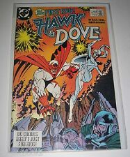 Hawk & Dove 1 to 5 Mini & #1 First Regular Issue   All 1st Print