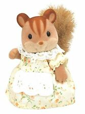 Epoch N/A Mother of Sylvanian Families doll walnut squirrel squirrel family F/S