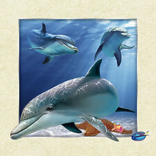 Dolphin Lenticular 3D Picture Animal Poster Painting Home Decor Wall Art Decor