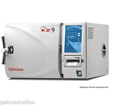 "NEW ! Tuttnauer EZ9 9"" x 18"" Dental Autoclave / Sterilizer Full Warranty"