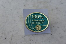 Lions Club Pins 2012-2013 Lioness 100% Attendance Pin