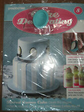 Deagostini Cake Decorating Magazine ISSUE 8 - WITH SILICONE CAMEO MOULD