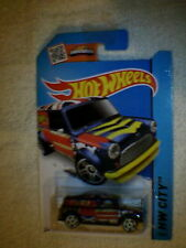 Hot Wheels - US Card - #27 '67 Austin Mini Van - Metallic Dark Blue