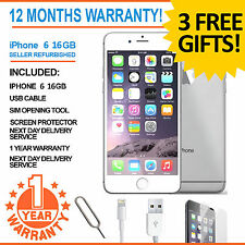 Apple iPhone 6 16GB Factory Unlocked - White/Silver