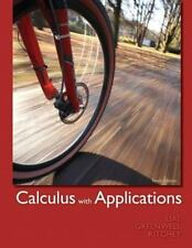 CALCULUS WITH APPLICATIONS by Lial Greenwell Ritchey, 10th Ed. 978-0-321-74900-0