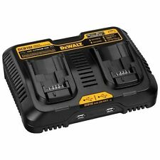New Dewalt 12 Volt - 20 Volt Jobsite Charging Station Dual Charger # DCB102