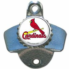 St Louis Cardinals MLB Baseball Wall Mount Metal Pub Bar Bottle Opener - New