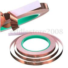 25 Meters 10mm Copper Shielding Adhesive Tape Double-sided Conductive Foil Tape